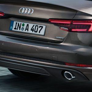 Задний фартук Audi A4 (8W/B9)