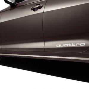 Комплект боковых порогов Audi A4 (8W/B9)