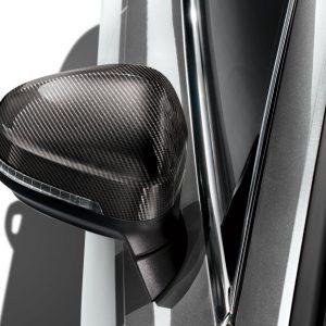 Карбоновые корпуса наружных зеркал заднего вида Audi A4 / S4 / RS4 / A5 / S5 / RS5, для автомобилей без Audi side assist