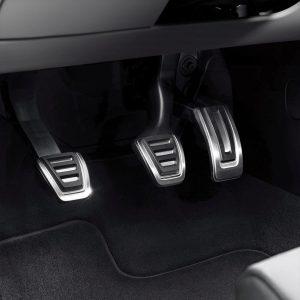 Накладки на педали Audi A4 (8W/B9)/A5 (T5/B9)/Q5 (8Y), для МКПП