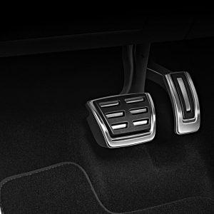 Накладки на педали Audi A4/S4 (8W/B9), A5/S4 (T5/B9), Q5 (8Y), для AКПП S-line