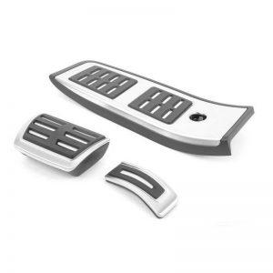 Накладки на педали Audi A4/S4 (8W/B9), A5/S5 (T5/B9), для АКПП с опорой для ноги S-line
