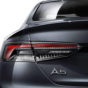 Светодиодные задние фонари Audi A5 / S5 / RS5 (T5/B9), матовые