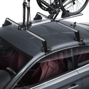 Багажные дуги Audi A5 / S5 Coupe (T5/B9), для автомобилей без релинга крыши