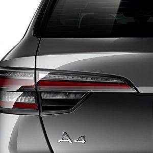Светодиодные задние фонари Audi A4 / S4 / RS4 Avant (8W/B9) / A4 allroad (8W/B9), матовые