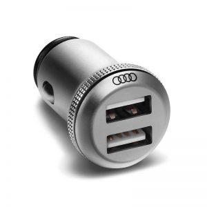 Двойной USB-адаптер Audi для зарядки устройств