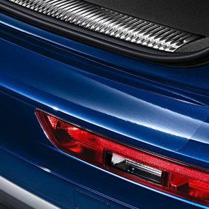 Защитная плёнка на задний бампер Audi A1 (8X)