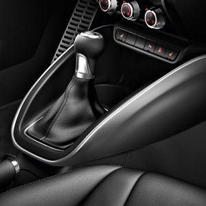 Декоративные накладки для центральной консоли Audi A1, серый Дейтона
