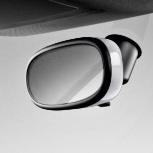 Декоративная накладка внутреннего зеркала Audi A1, белый ледник, для зеркала с автоматическим затемнением