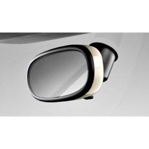 Декоративная накладка внутреннего зеркала Audi A1, белый Амальфи, для зеркала с автоматическим затемнением