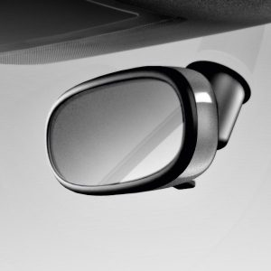 Декоративная накладка внутреннего зеркала Audi A1, серый Дейтона, для зеркала с автоматическим затемнением