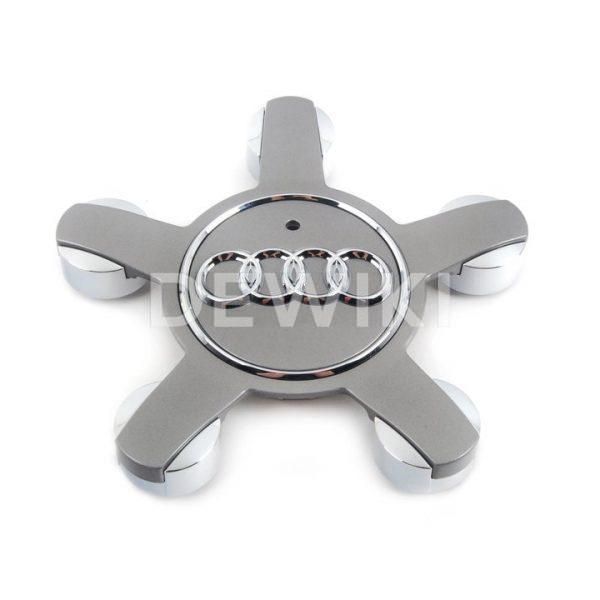 Колпачок ступицы колеса Audi A1, серый металлик