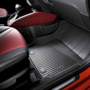 Резиновые передние коврики Audi А1