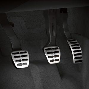 Накладки на педали Audi A1 (8X), для МКПП