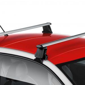 Багажные дуги Audi A1 (8X) с 2011 года, для автомобилей без релинга крыши