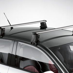 Багажные дуги Audi A1 Sportback (8X) с 2012 года, для автомобилей без релинга крыши
