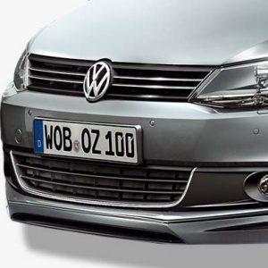 Накладка на бампер передний Volkswagen Jetta 6