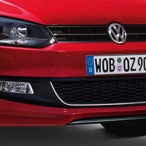 Накладка передний бампер Volkswagen Polo