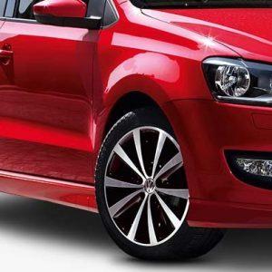 Накладки порогов Volkswagen Polo 5