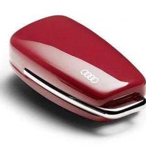 Пластиковая крышка для ключа Audi Ring Design Misano Red
