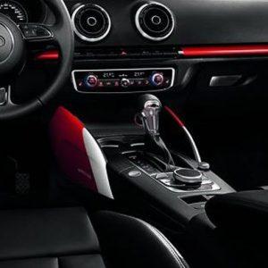 Декоративные накладки для центральной консоли Audi A3/S3 (8V) 2013-н.в., «Colour kit red»