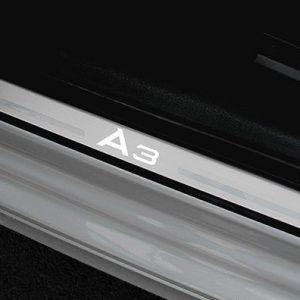Комплект накладок порогов Audi A3/S3 Limousine (8V) 2014-н.в.