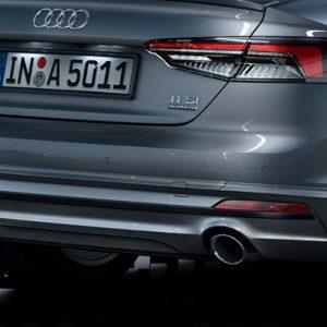 Задний фартук Audi A5 (T5/B9)
