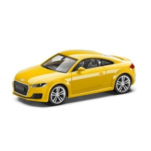 Модель в миниатюре  Audi TT Coupe, Vegas Yellow, масштаб 1:87