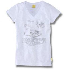 Женская футболка Volkswagen Beetle, White