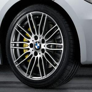 Комплект летних колес в сборе R18 BMW E81/E82/E87/E88 Performance Double Spoke 269, Dunlop SP Sport 01 ROF, без RDC, Runflat