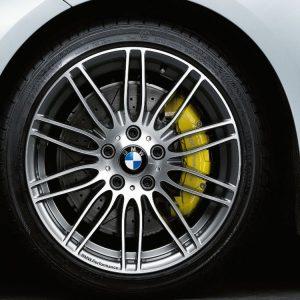 Комплект летних колес в сборе R19 BMW E90/E91/E92/E93 Performance Double Spoke 269 двухцветный, Pirelli P Zero, без RDC