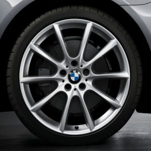 Комплект летних колес в сборе R18 BMW F10/F11/F07 V-Spoke 281, Pirelli Cinturato P7, без RDC, Runflat