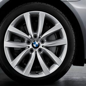 Комплект летних колес в сборе R19 BMW F10/F06/F12/F13 V-Spoke 331, Michelin Primacy HP ZP, RDC, Runflat