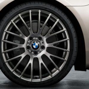 Комплект летних колес в сборе R20 BMW F10/F06/F12 Cross Spoke 312 Ferricgrey, Dunlop Sport Maxx TT ROF, RDC, Runflat