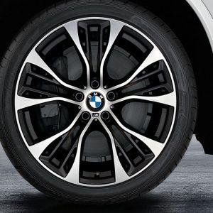 Комплект летних колес в сборе R21 BMW M Performance Double Spoke 599 M, Pirelli P Zero, RDC, Runflat