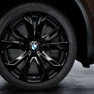 Комплект летних колес в сборе R20 BMW Star Spoke 491, Dunlop SP Sport Maxx GT ROF, RDC, Runflat