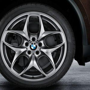 Комплект летних колес в сборе R21 BMW Double Spoke 215 Gray, Pirelli P Zero r-f, без RDC, Runflat
