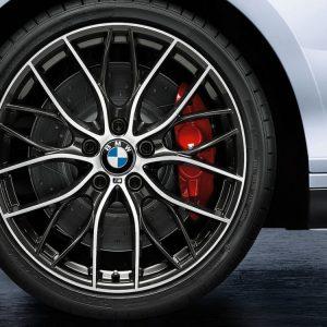 Комплект летних колес в сборе R19 F20/F21/F22/F23 BMW M Performance Double Spoke 405 M, Pirelli P Zero, RDC, Runflat