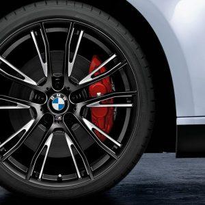 Комплект летних колес в сборе R20 BMW M Performance Double Spoke 624 M Black, Pirelli P Zero, RDC, Runflat