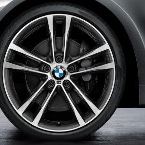 Комплект летних колес в сборе R19 BMW F34 GT M Double Spoke 598 M Bicolor, Pirelli P Zero r-f, RDC, Runflat