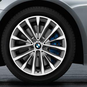 Комплект летних колес в сборе R18  BMW G30/G31 W-Spoke 632, Goodyear Eagle F1 Asymmetric 3 ROF , RDC, Runflat