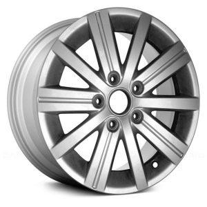 Диск литой R15 Volkswagen, Wellington Brilliant Silver, 6,5J x 15 ET50