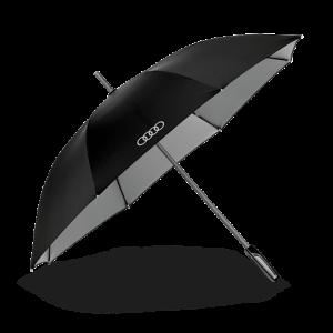 Большой зонт-трость Audi, Black/Titan