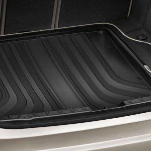 Коврик в багажник BMW F45 2 серия, Black/Biege, регулируемые задние сидения