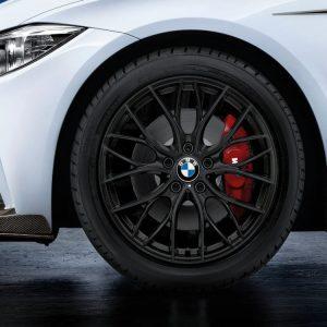 Зимнее колесо R18 BMW F30/F31/F32/F33/F36, Double Spoke 405M Performance, Pirelli Winter Sottozero 2 TS830P RunFlat