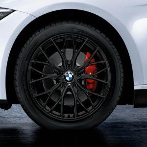 Зимнее колесо в сборе R18 BMW F34, Star Spoke 405M Performance, Continental Winter Contact TS830P RunFlat