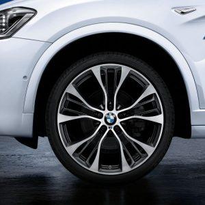 Комплект летних колес в сборе R21 BMW F15/F16 M Performance Double Spoke 599 M, Pirelli P Zero RSC, без RDC, Runflat