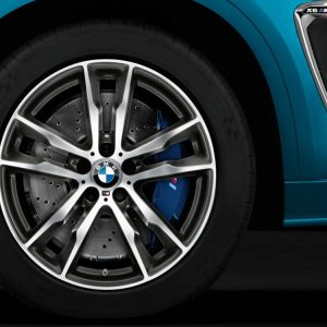 Зимнее колесо BMW  F85/F86, DOUBLE SPOKE 611M, Pirelli Scorpion Winter (RDC)  ПО