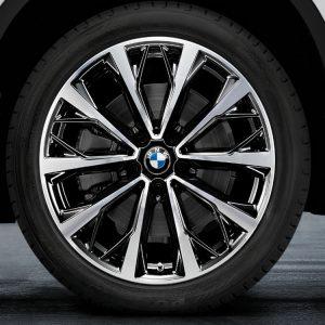Комплект летних колес в сборе R19 BMW V-Spoke 573, Bridgestone Potenza S001 RFT, без RDC, Runflat