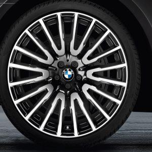 Комплект летних колес в сборе R21 BMW G32/G11/G12 Multi Spoke 629 Orbit Gray, Pirelli P Zero r-f, RDC, Runflat